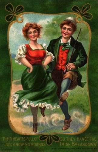 Irish couple