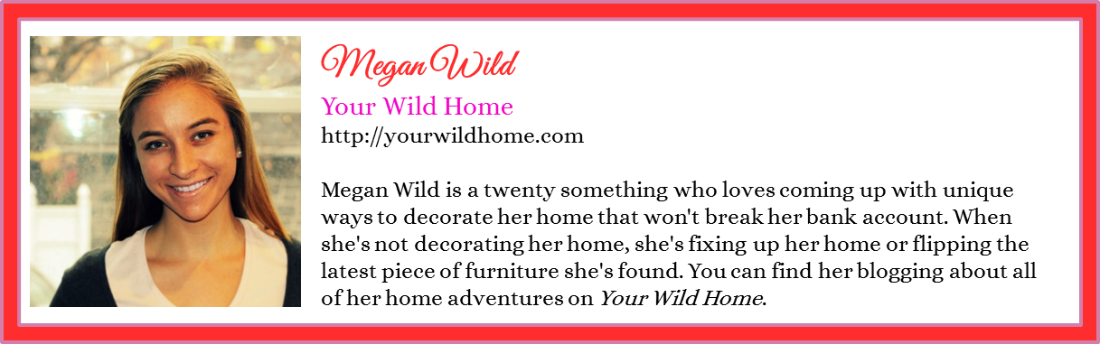 Megan Wild - Your Wild Home - Spring 2016