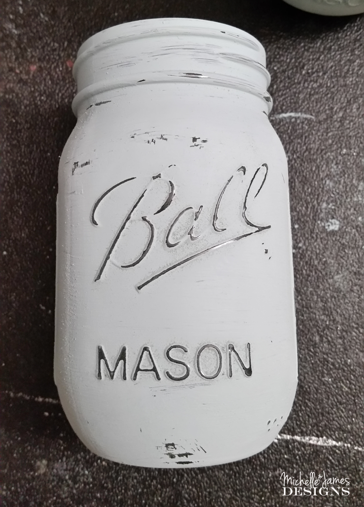 Michelle - Mar 8 - Chalk Painted Mason Jars - Pic 4 copy