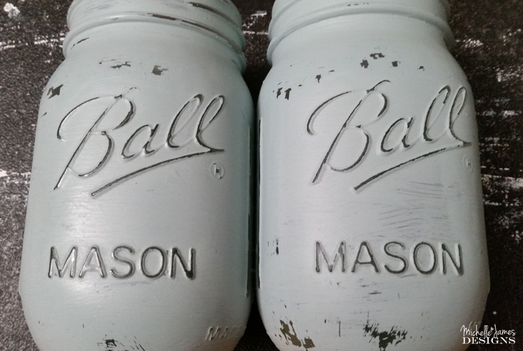 Michelle - Mar 8 - Chalk Painted Mason Jars - Pic 5 copy