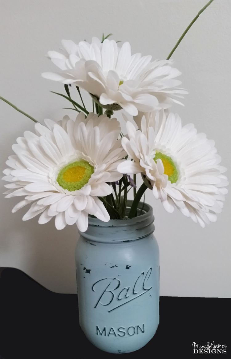 Michelle - Mar 8 - Chalk Painted Mason Jars - Pic 6 copy