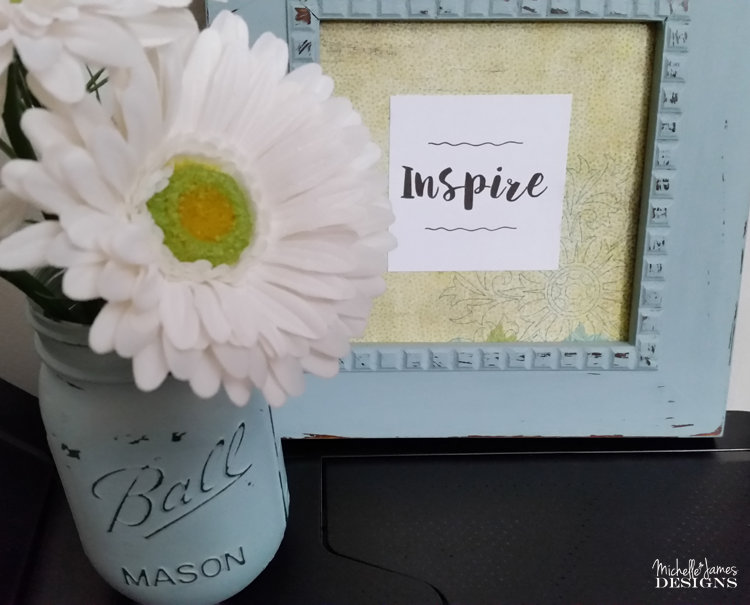 Michelle - Mar 8 - Chalk Painted Mason Jars - Pic 7 copy