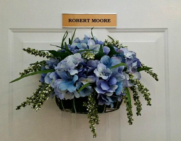 DIY Hydrangea Door Decor - Intelligent Domestications - HMLP 84 - Feature