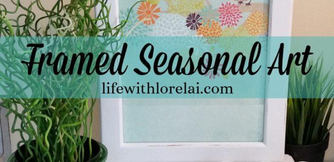 Framed Seasonal Art