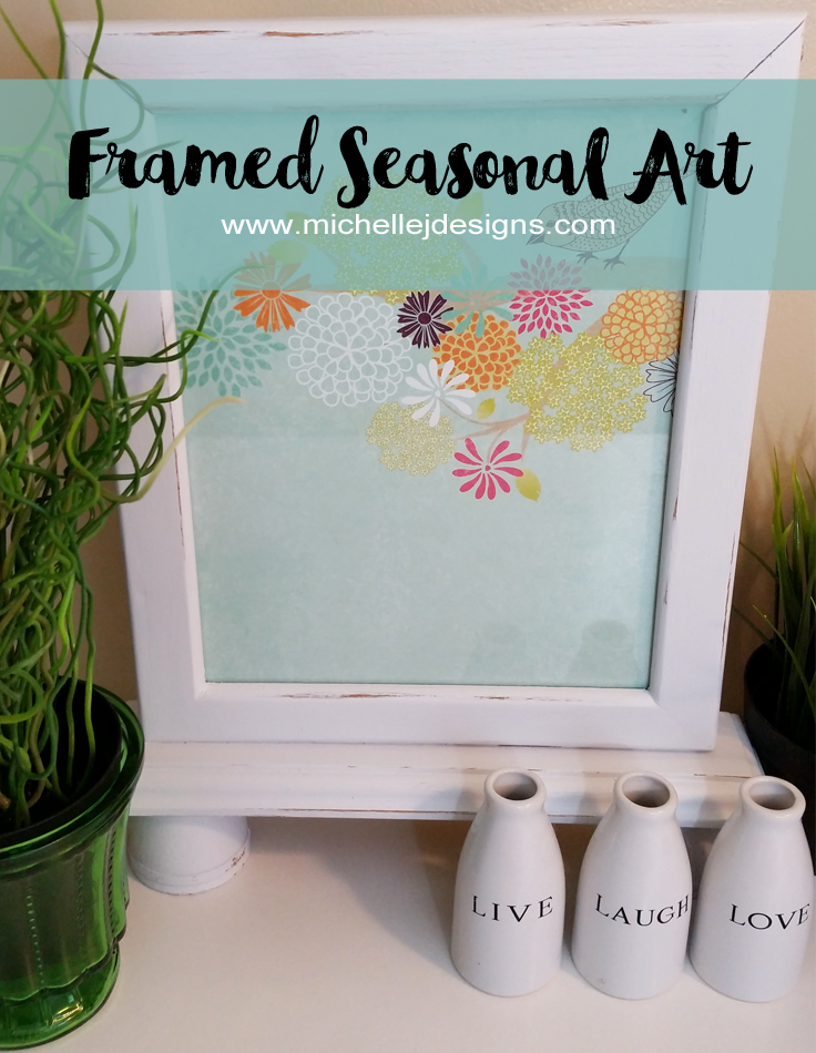 Michelle - Apr 19 - Frame For Seasonal Art - Pic 1 copy