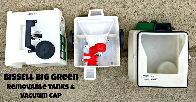 BISSELL-Big-Green-Removable-Tanks-Vacuum-Cap