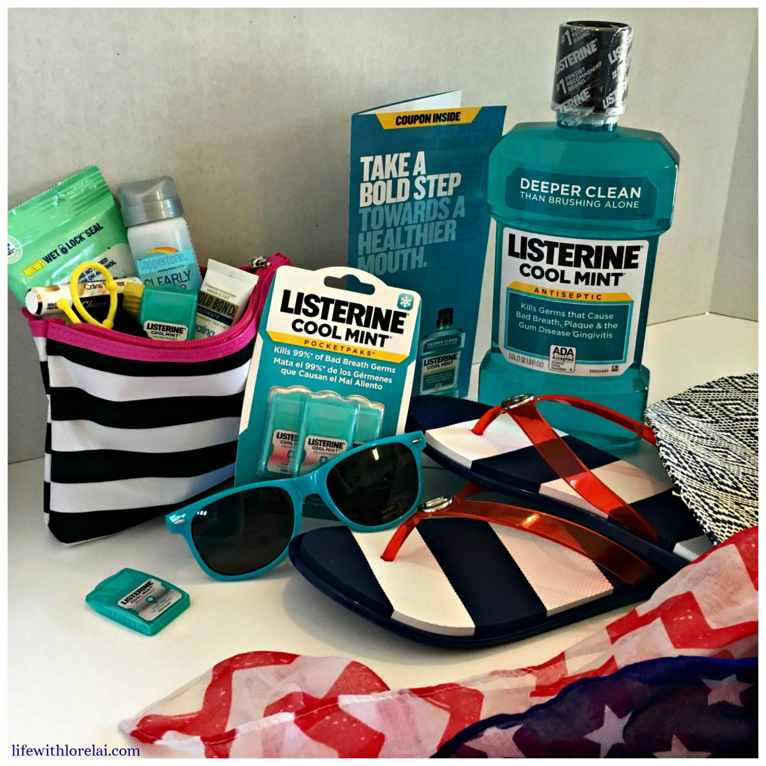 Listerine-Cool-Mint-Summer-Survival-Kit-Bold-Life With Lorelai