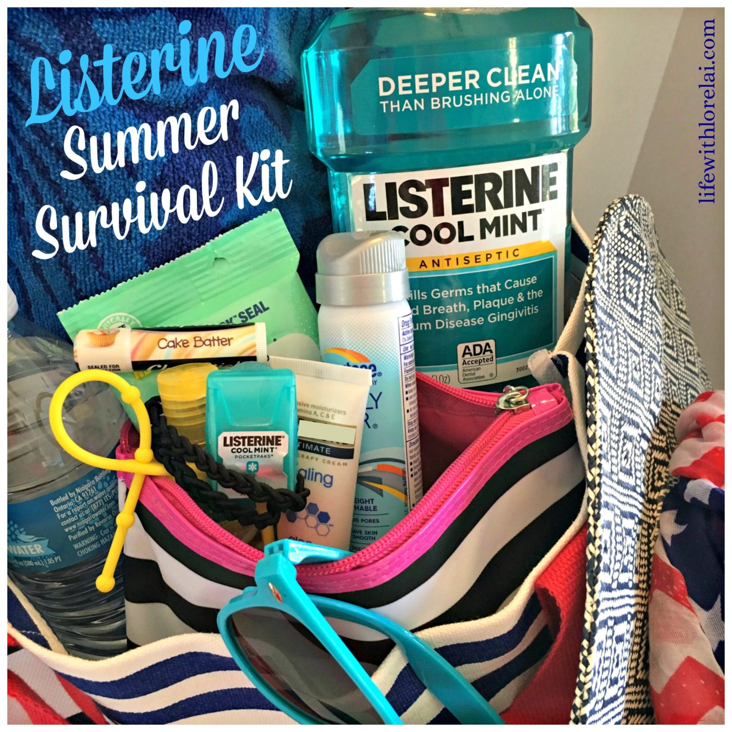 Listerine-Summer-Survival-Kit-Life With Lorelai