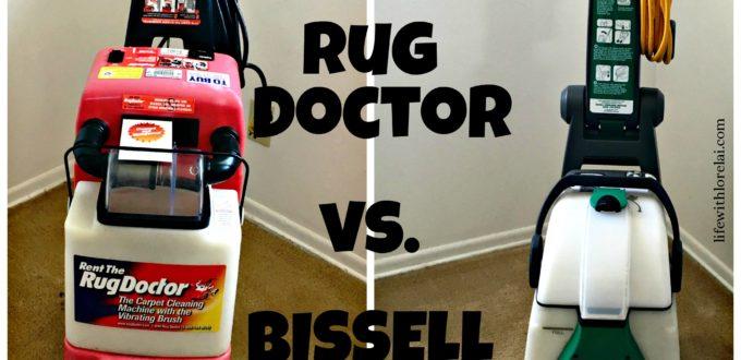 Carpet Cleaner – BISSELL vs. Rug Doctor
