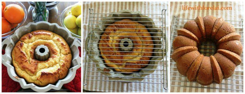 Fresh Orange Bundt Cake Recipe from Life With Lorelai