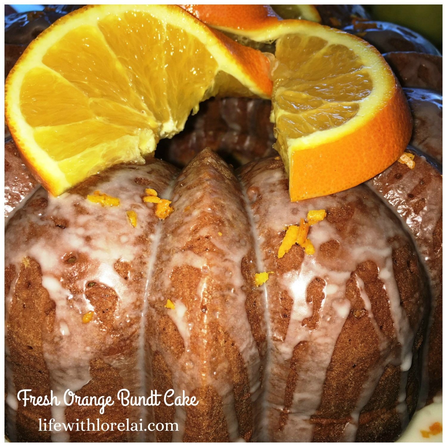 Fresh Orange Bundt Cake Recipe from Life With Lorelai