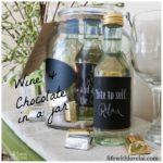 Wine & Chocolate Gift Jar