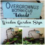 DIY Wooden Garden Sign