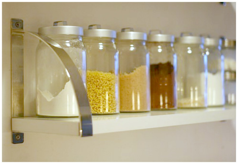 Jars-Shelf-5-Budget-Friendly-Projects-Apartment