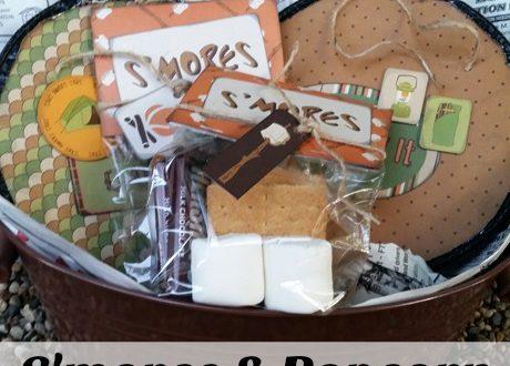S'mores & Popcorn Camping Gift – DIY