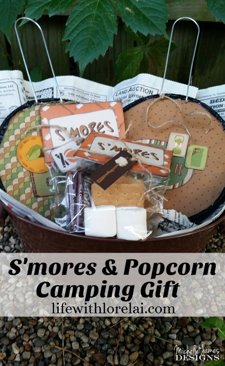 Michelle - Jul 26 - S'mores and Popcorn Camping Gift - Life With Lorelai