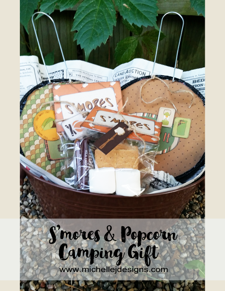 Michelle - Jul 26 - S'mores and Popcorn Camping Gift - Pic 1
