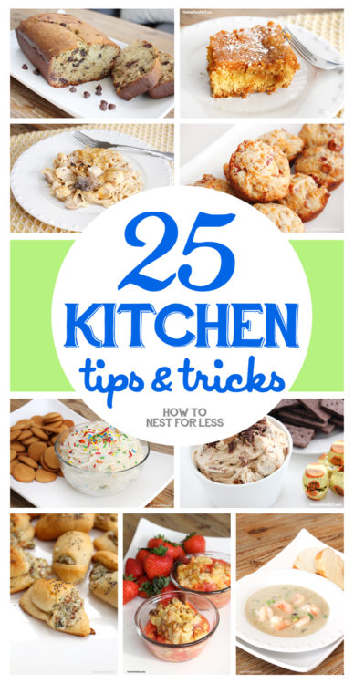 25 Kitchen Tips and Tricks - How To Nest For Less - HMLP 99 - Feature