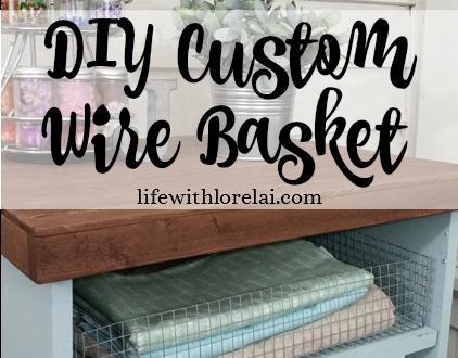 Make A DIY Custom Wire Basket