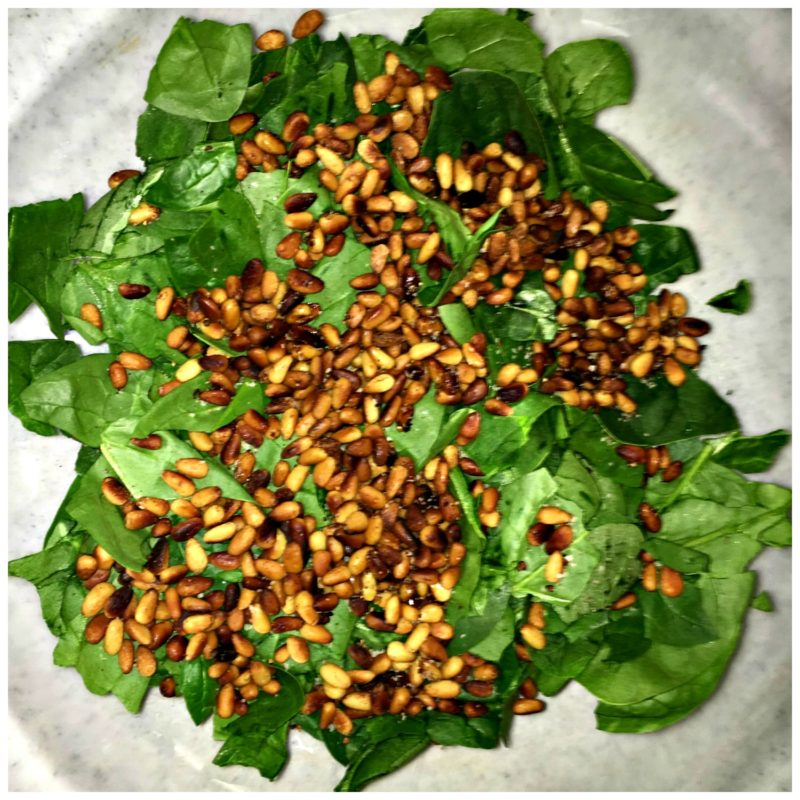 Spinach-Pine-Nuts
