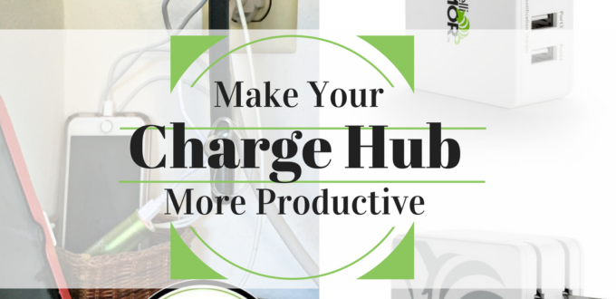Need more outlets to charge your devices? Check out how I saved space and am charging multiple things at one time with IntelliArmor 4-port USB Charger. AD
