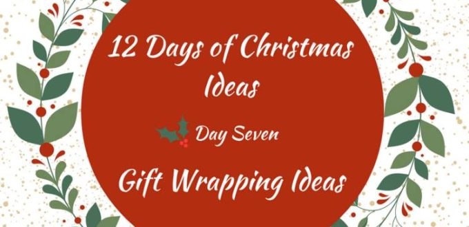 Fabulously festive ideas for gift wrapping. 12 Days of Christmas Ideas Blog Hop has got loads of ideas for celebrating the holidays.