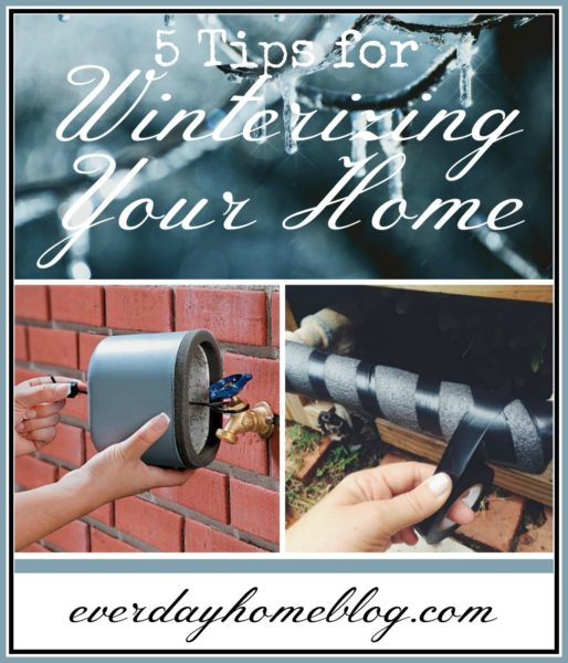 5 Tips For Winterizing Your Home - Everyday Home Blog - HMLP 113 Feature