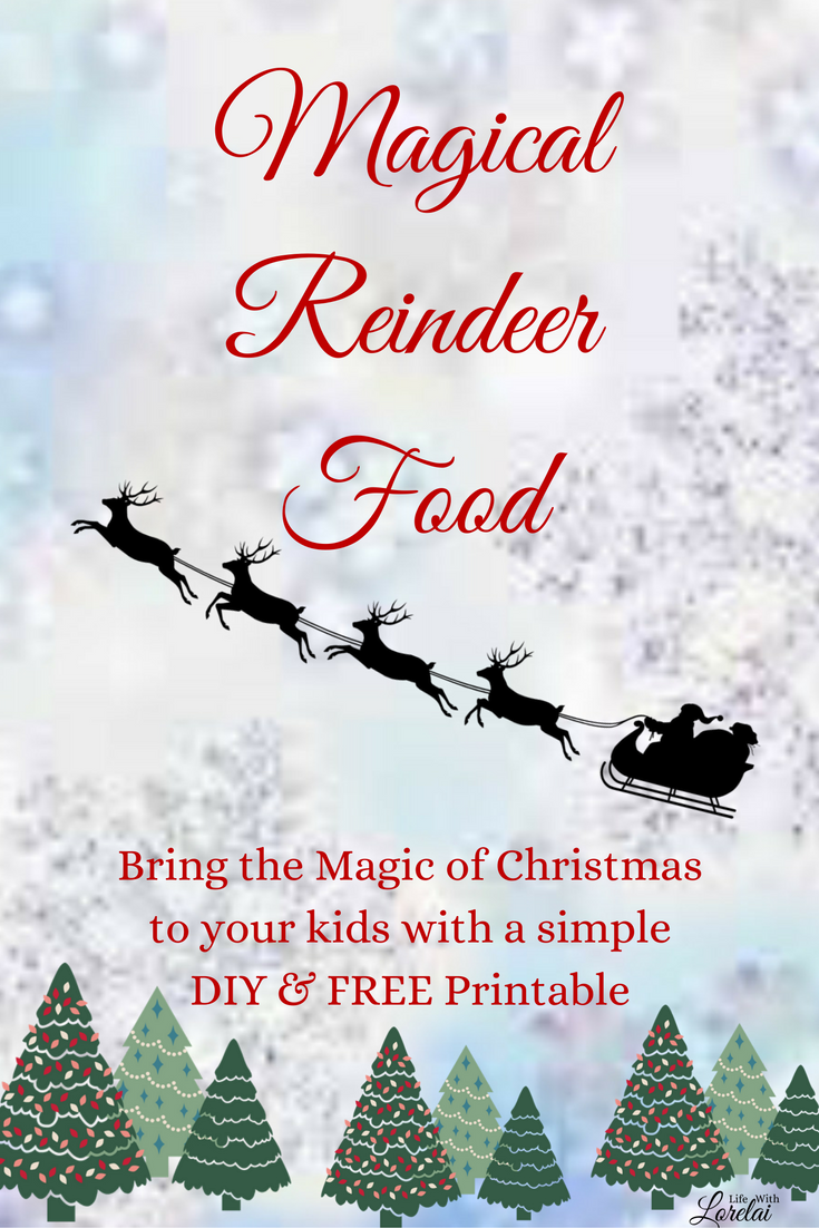 picture regarding Reindeer Food Poem Printable referred to as Magical Reindeer Foods + No cost Printable - Lifestyle With Lorelai