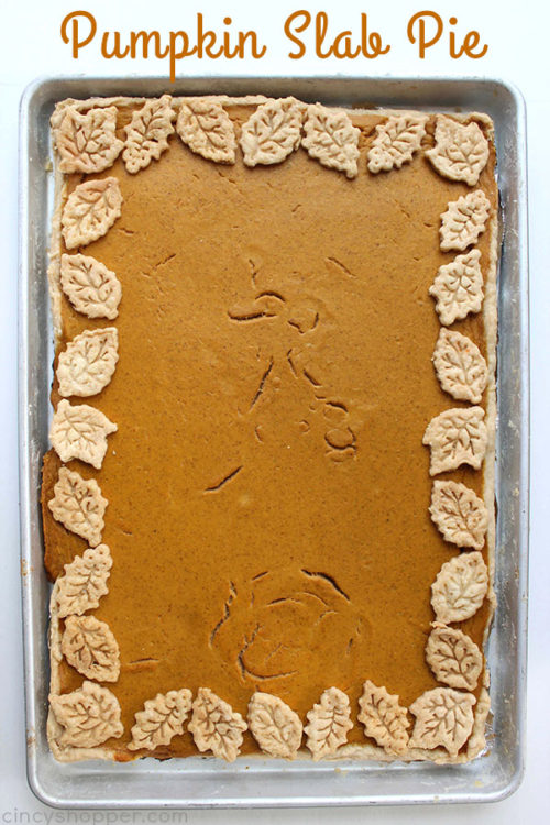 Pumpkin Slab Pie - Cincy Shopper - HMLP 111 Feature