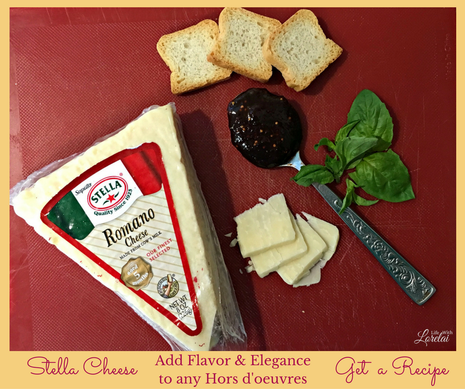 A spectacular hors d'oeuvre for holiday entertaining. Your guests will love this appetizer, and it's an elegant and easy recipe. AD #StellaCheeses