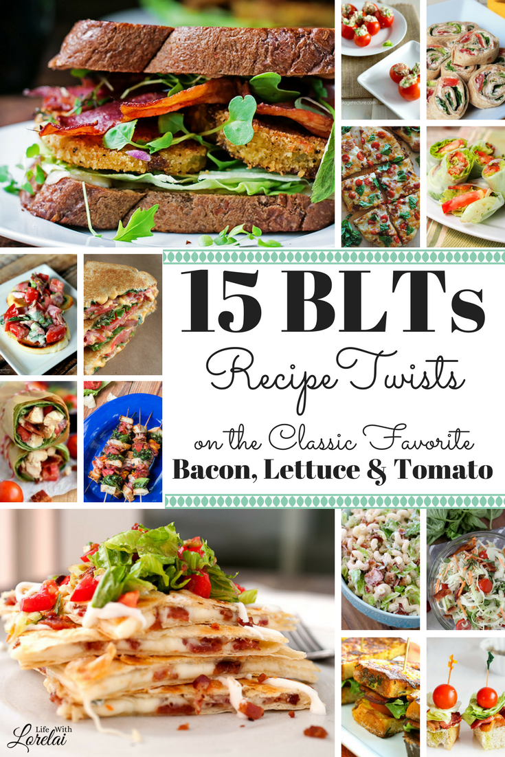 Re-imagine the classic favorite with 15 recipe twists on the Bacon Lettuce, and Tomato sandwich. Celebrate with BLT recipe ideas for every meal or party.