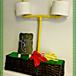 Football Decor – DIY Goal Post Toilet Paper Holder For The Big Game