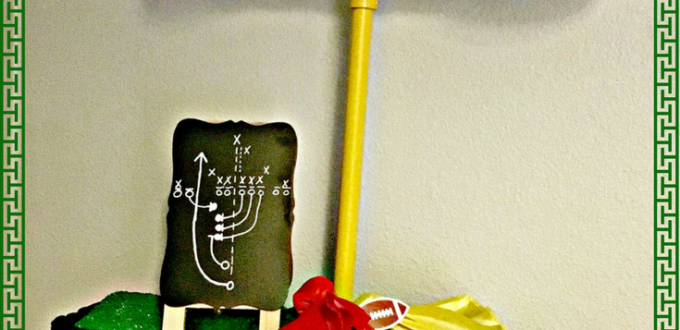 Football Decor – DIY Goal Post Toilet Paper Holder For The Big Game