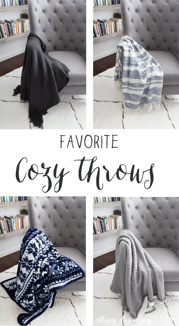 Favorite Cozy Throws - Not Just A Housewife - HMLP Feature 117