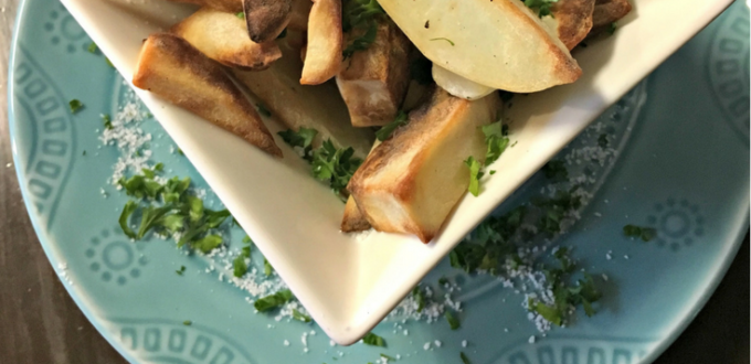 Air Fryer Potato Wedges Recipe