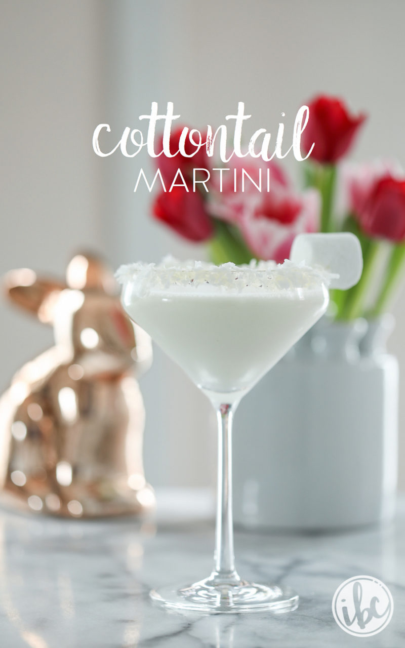 9 easter cocktails every bunny will love life with lorelai for Cocktail martini