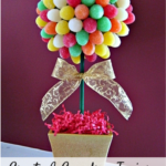 Create A Gumdrop Topiary – A Sweet DIY