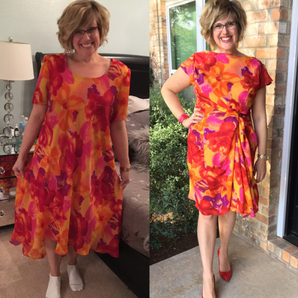 Refashioned Dress - ABC Mom Style - HMLP Feature 127