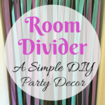 Room Dividers – A Simple DIY Party Decor