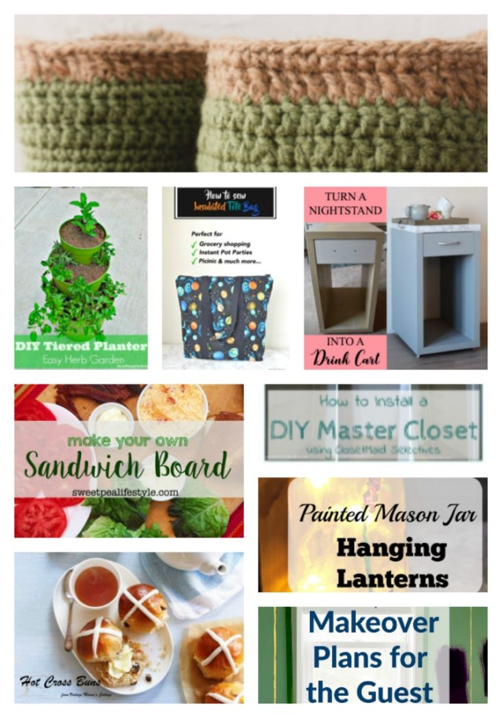 Come join the fun and link your blog posts at the Home Matters Linky Party 131. Find inspiration recipes, decor, crafts, organize -- Door Opens Friday EST.