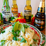 Beer Rice With Cilantro And Lime Recipe + Mini Piñata Garland DIY