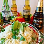 Beer Rice With Cilantro And Lime Recipe + Mini Piñata Garland DIY