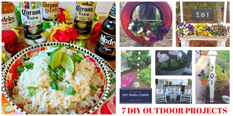 Come join the fun and link your blog posts at the Home Matters Linky Party 133. Find inspiration recipes, decor, crafts, organize -- Door Opens Friday EST.