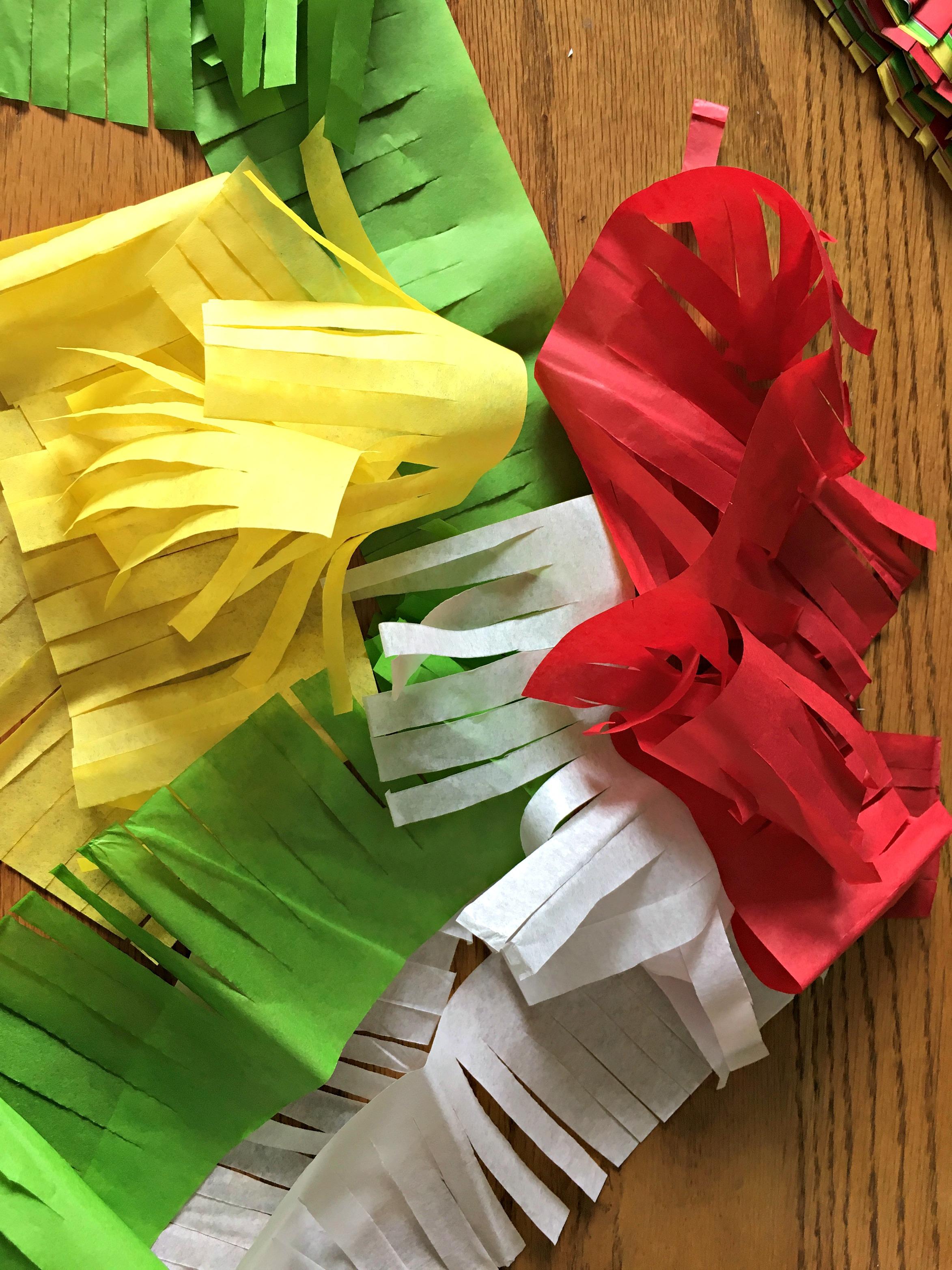 Mini Piñata Garland DIY 14