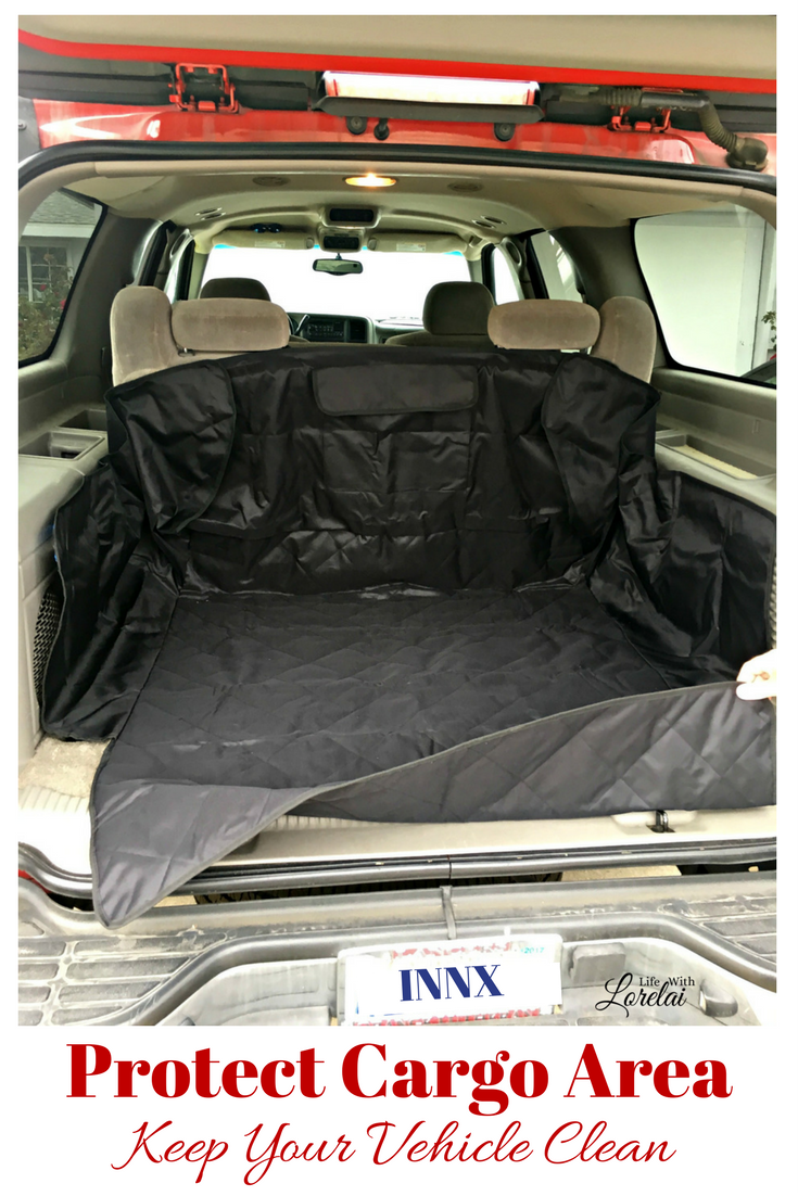 Enjoy life, live it to the fullest, but that leaves your vehicle vulnerable to messes. Protect cargo area with an INNX waterproof liner. #AD #INNXproducts