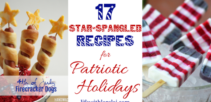 A roundup of patriotic-themed food. Find savory foods, sweets, and drinks great for celebrating the holidays with star-spangled recipes.
