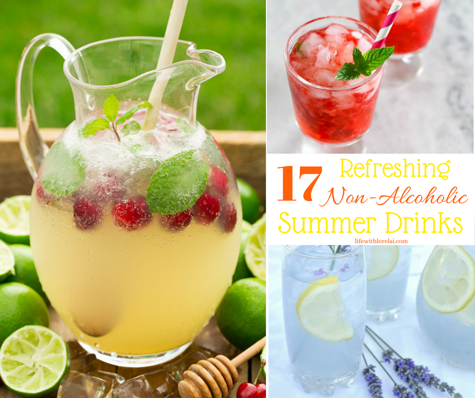 17 non alcoholic drink recipes refreshing summer life for Refreshing drink recipes non alcoholic