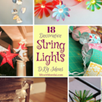 18 Decorative String Lights DIY Ideas