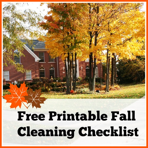 Free Printable Fall Cleaning Schedule - A Cultivated Nest - HMLP Feature 151