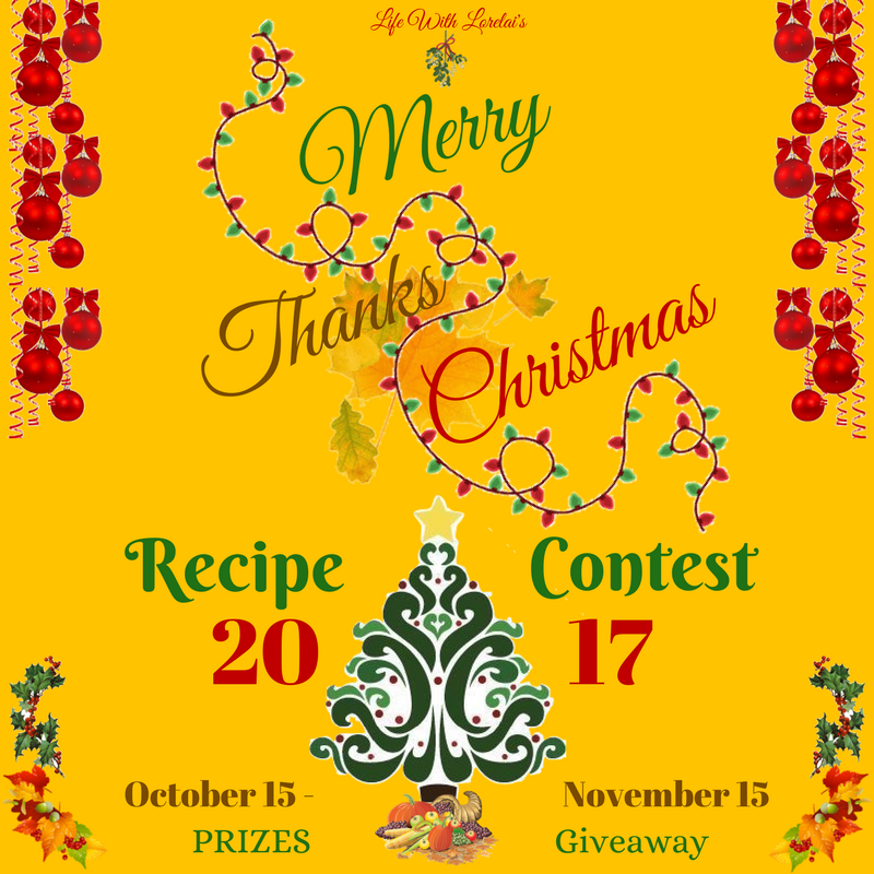 LWL Merry ThanksChristmas Recipe Contest SM